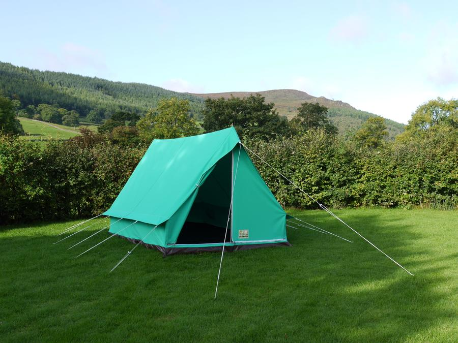 Giant Pearl Tent Canvas Ridge Tent Scout Tent